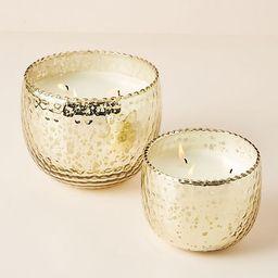 Hammered Mercury Glass Balsam & Cedar Candle | Anthropologie (US)