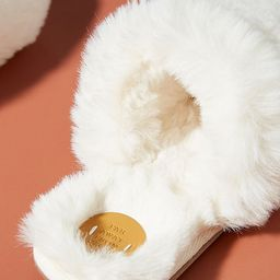 Margot Faux Fur Slippers | Anthropologie (US)