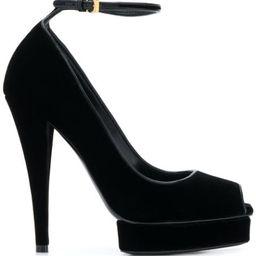 velvet 125mm sandals | Farfetch (US)