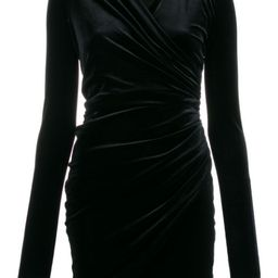 structured shoulder cocktail dress | Farfetch (US)