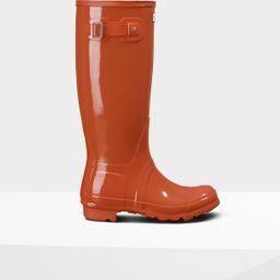 Women's Original Tall Gloss Rain Boots | Hunter (US)
