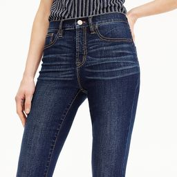 """9"""" high-rise toothpick TENCEL™ jean in Point Lake wash 