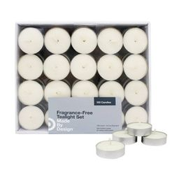 100pk Unscented Tealight Candle Set - Made By Design™ | Target
