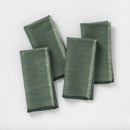 4pk Napkin Set Green - Hearth & Hand™ with Magnolia | Target