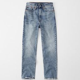 Ultra High Rise Ankle Straight Jeans   Abercrombie & Fitch US & UK