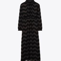 Tory Burch Velvet Devoré Dress: Women's Clothing | Tory Burch (US)