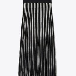 Tory Burch Striped Sweater Skirt: Women's Clothing | Tory Burch (US)