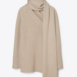 Tory Burch Cashmere-blend Convertible Wrap Sweater: Women's Clothing | Tory Burch (US)