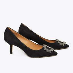 Tory Burch Crystal-buckle Pump: Women's Shoes | Tory Burch (US)