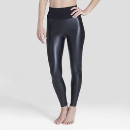 Assets by Spanx Women's All Over Faux Leather Leggings | Target