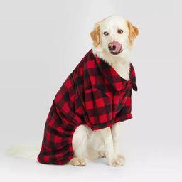 Holiday Buffalo Check Cat & Dog Pajamas - Wondershop™ Red | Target