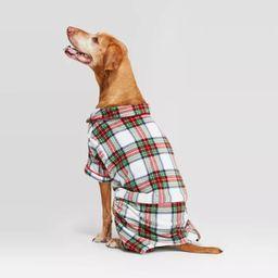 Holiday Tartan Plaid Cat & Dog Pajamas - Wondershop™ White | Target