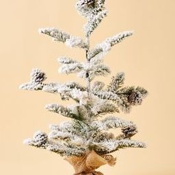 Flocked Christmas Tree | Anthropologie (US)