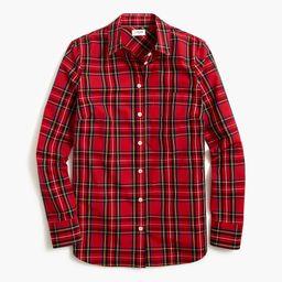 Button-up tartan shirt | J.Crew Factory