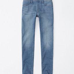 pull-on jean leggings | abercrombie kids US