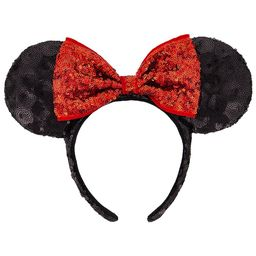 Minnie Mouse Sequin Ear Headband | shopDisney | shopDisney
