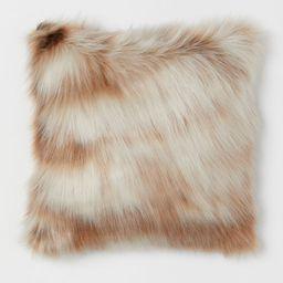 Faux Fur Cushion Cover | H&M (US)