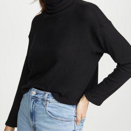 Sweater Knit Cropped L/S turtleneck   Shopbop