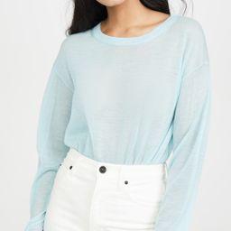 Cashmere Crew Sweater   Shopbop