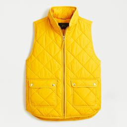 Excursion vest in recycled poly with PrimaLoft® fill | J.Crew US