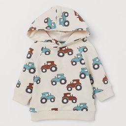 Cotton Hooded Sweatshirt | H&M (US)