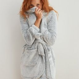 Aerie Fuzzy Sherpa Robe   American Eagle Outfitters (US & CA)