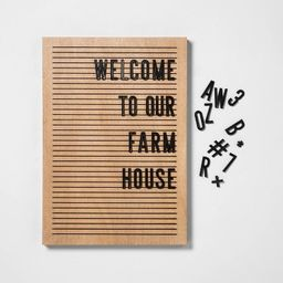 Letter Board - Hearth & Hand™ with Magnolia | Target