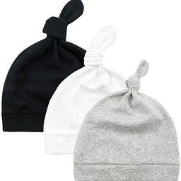 Durio Baby Hats Newborn Baby Beanie Knot Baby Boy Hat Soft Baby Girl Beanies Gifts for Baby Newbo... | Amazon (US)