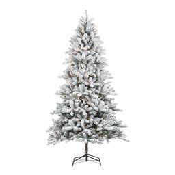 Holiday Time Pre-Lit Birmingham Fir Pre-Shaped Christmas Tree, 7.5', Clear - Walmart.com | Walmart (US)
