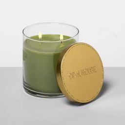 15.1oz Lidded Glass Jar 2-Wick Candle Holiday Spruce - Opalhouse™ | Target