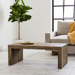 Emmerson® Reclaimed Wood Coffee Table - Stone Gray | West Elm (US)