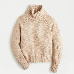 Chunky alpaca turtleneck sweater | J.Crew US