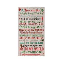 Holiday Word Wall Sign by Ashland® | Michaels Stores