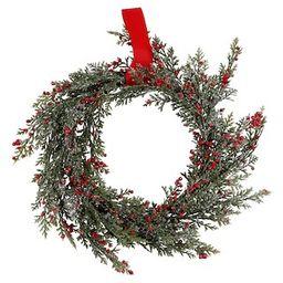 "12"" Berry & Cedar Wreath by Ashland® | Michaels Stores"