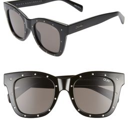 After Hours Rhinestone 50mm Sunglasses | Nordstrom