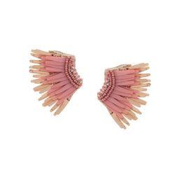 wings beaded earrings | Farfetch (US)