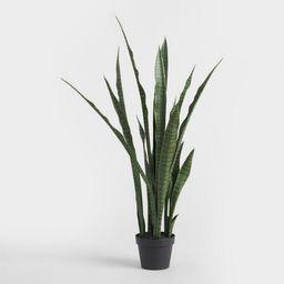 Faux Sansevieria Plant | World Market
