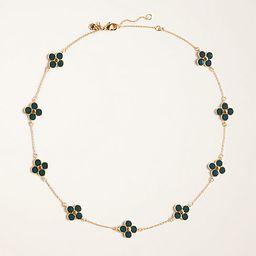 Enamel Clover Necklace | Ann Taylor | Ann Taylor (US)