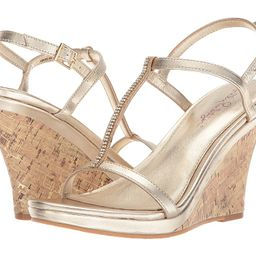 Lilly Pulitzer - Maxine Wedge (Gold Metallic) Women's Wedge Shoes | Zappos