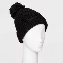 Women's Cuffed Knit Beanie with Lining - Universal Thread™ One Size   Target