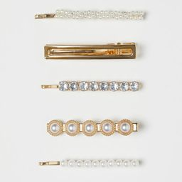 5-pack Hair Clips   H&M (US)