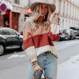 Clifton Colorblock Sweater | Amaryllis Apparel