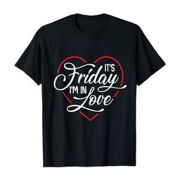 It's Friday I'm in Love Heart T-Shirt | Amazon (US)