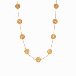 Coin Demi Station Necklace   Julie Vos