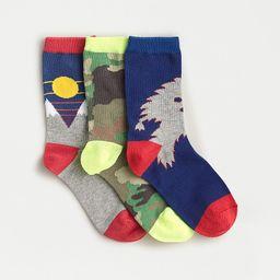 Kids trouser socks three-pack | J.Crew US