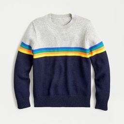 Kids' cotton sweater with stripes | J.Crew US
