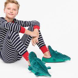 Kids' crocodile slippers | J.Crew US