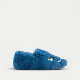 Kids' fuzzy monster slippers with glow-in-the-dark eyes | J.Crew US