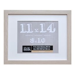 Blonde Belmont Frame With Mat By Studio Décor®   Michaels Stores