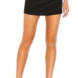 Dylan Corduroy Mini Skirt in Black   Revolve Clothing (Global)